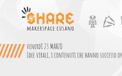 23 marzo: Idee virali, i contenuti che hanno successo online