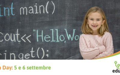 OPEN DAY: 5 e 6 settembre, scopri le attività per bambini e ragazzi