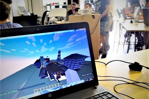 coding con minecraft